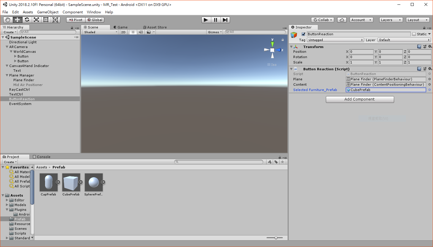 How To Dynamically Add a 3D Model to a Ground Plane?   Vuforia