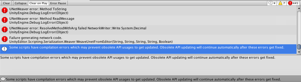 Error importing v6 2 6 Unity package to Mac Unity 5 5